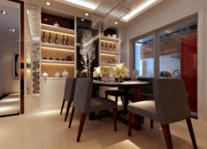 dining-room-lighting-installation