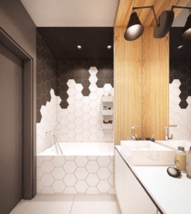 monochrome-bathroom-wall-tiles